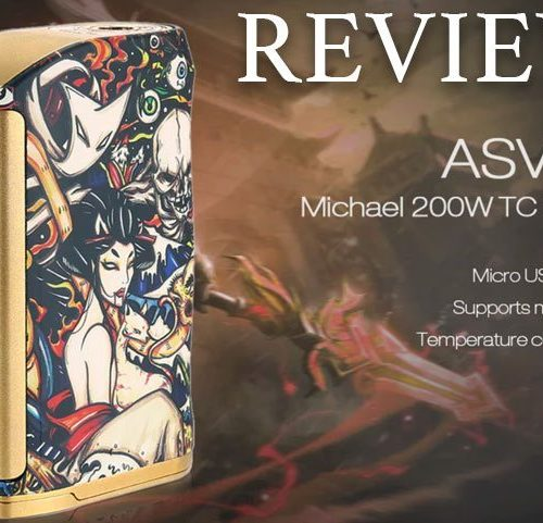 Asvape Michael VO200 TC Mod Devils Night Edition ( Authentic )-vapesaigon