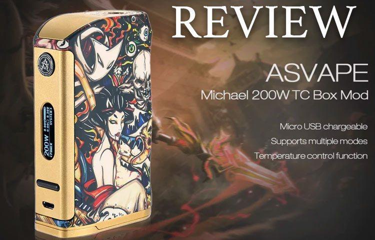 Asvape Michael VO200 TC Mod Devils Night Edition ( Authentic )-vapesaigon