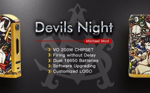 Asvape Michael VO200 TC Mod Devils Night Edition ( Authentic )1-vapesaigon