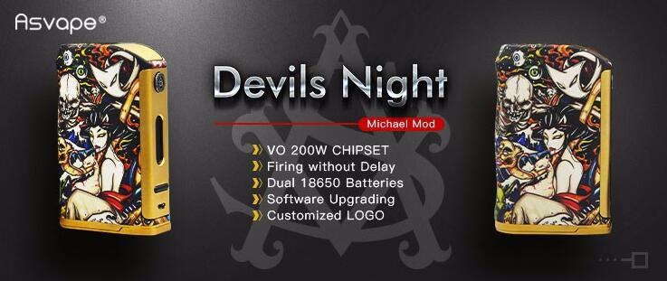 Asvape Michael VO200 TC Mod Devils Night Edition ( Authentic )1-vapesaigon