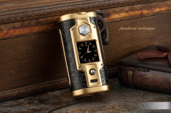 SXmini G Class Luxury Golden Limited Edition 200W TC Box MOD 5 vapesaigon