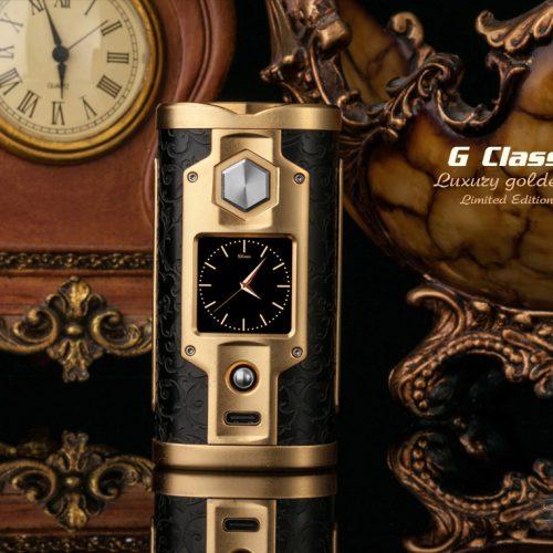 SXmini G Class Luxury Golden Limited Edition 200W TC Box MOD vapesaigon