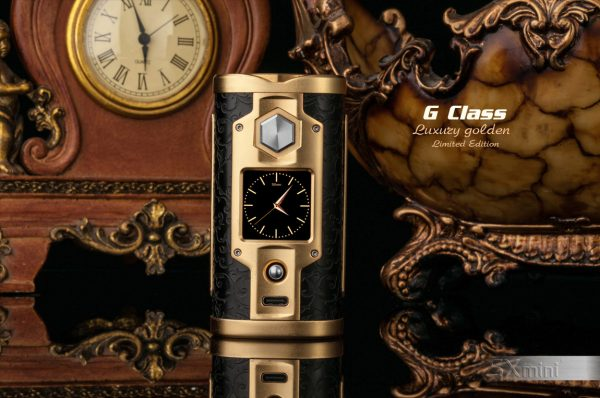 SXmini G Class Luxury Golden Limited Edition 200W TC Box MOD vapesaigon