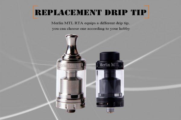 Augvape Merlin MTL RTA 4 -vapesaigon