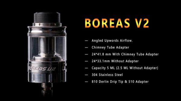 Augvape Boreas V2 RTA-vapesaigon