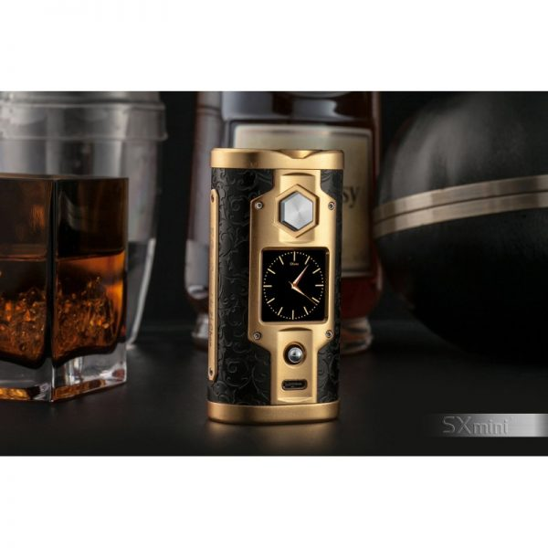SXmini G Class Luxury Golden Limited Edition 200W TC Box MOD 3 vapesaigon