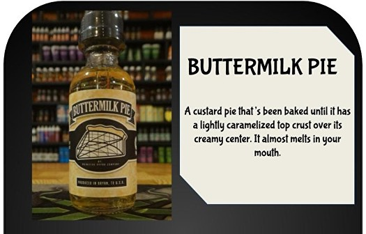 Buttermilk pie 60 ml -tinh dầu mỹ -vapesaigon
