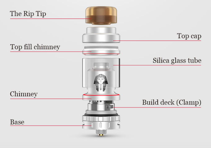 Pharaoh Mini RTA by digiflavor 2 -vapesaigon