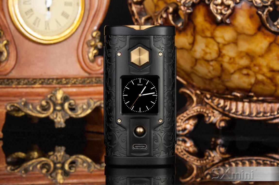 SXmini G Class Black/Golden Limited Edition - vapesaigon