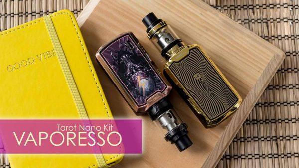VAPORESSO TAROT NANO GOLD VECTOR 80w - vapesaigon