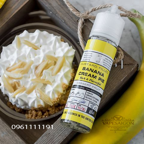 Banana Cream Pie by Glas Basix Series E-Liquid 2-vapesaigon