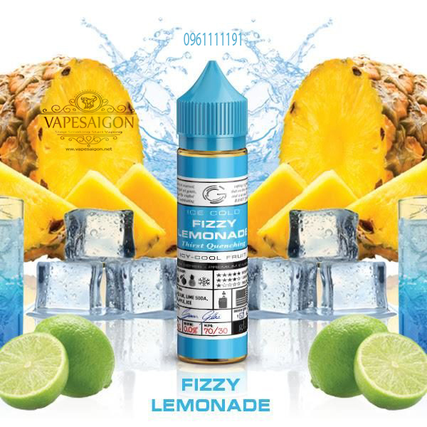 Fizzy Lemonade by Glas baxic-vapesaigon