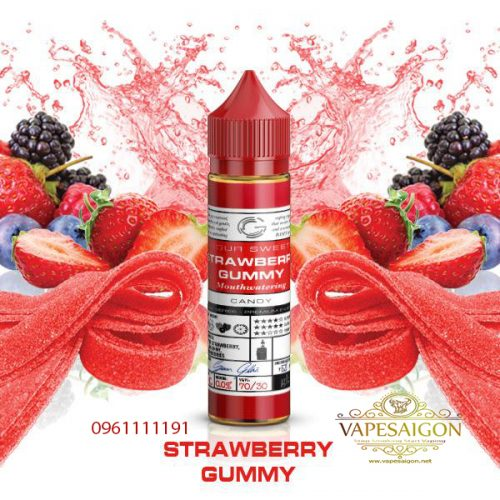 Strawberry Gummy by Glas baxic-vapesaigon