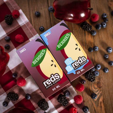 Berries Reds Apple E-Juice by Vape 7 Daze 60mL USA 1- vapesaigon
