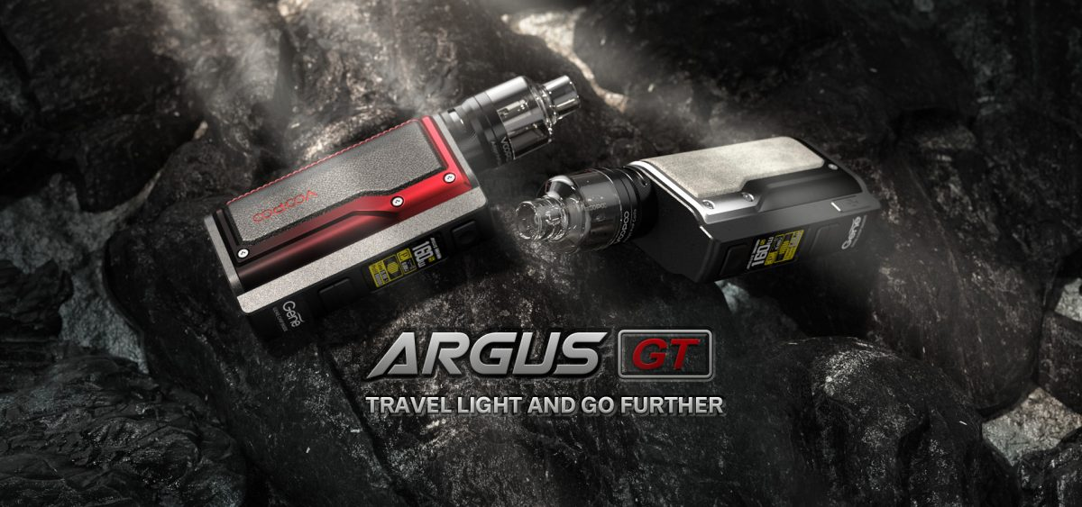 Argus GT 160W Kit By Voopoo PnP Tank Coil